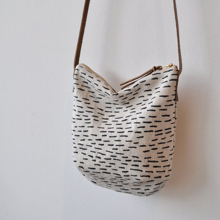 SMALL DAY BAG rain by bookhouathome on Etsy. $40.00 USD