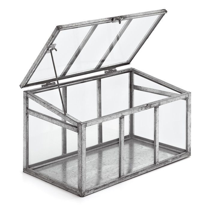 Glass / Steel Indoor Greenhouse | Pinterest | Zimmergewächshaus ...