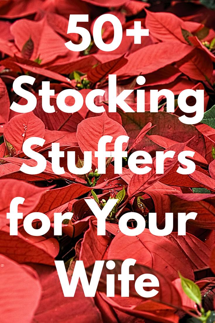 Best Christmas Stocking Stuffers for Your Wife: 50 ...