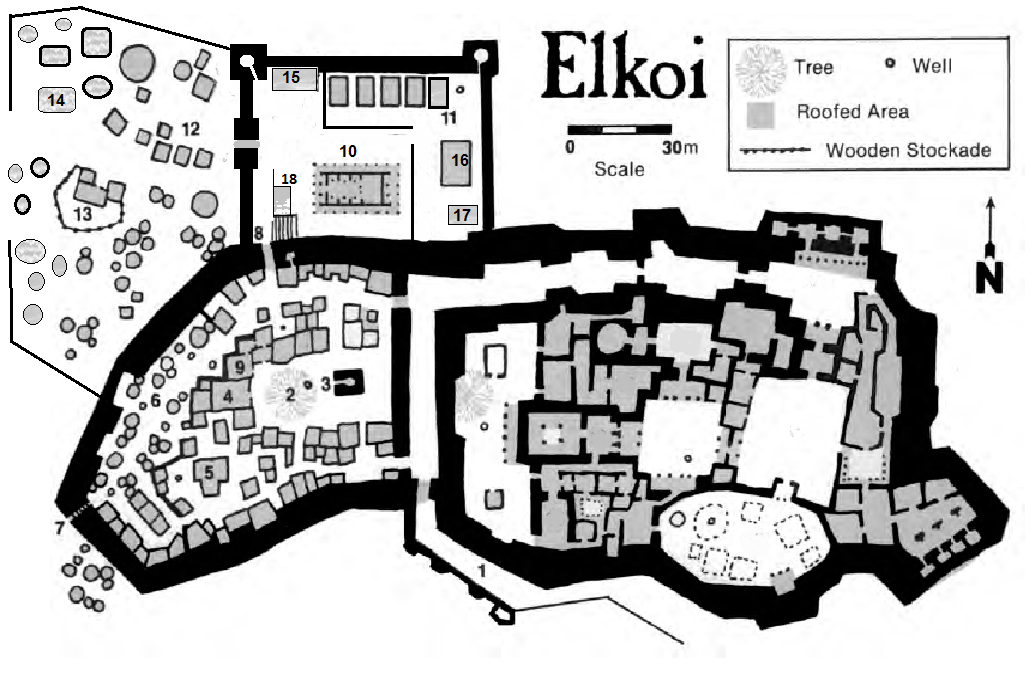 New Map of Elkoi | Adventure map, Dungeon maps