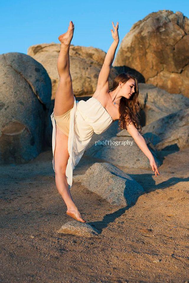 Dance, tilt, dancer, dance photo, legs, technique, dance photographer, dance photography, dress, sand, beach, desert, blue, sky, rocks, amazing  (c) pho(T)ography 2013 | TPhotographyPhotos.com | Facebook.com/TPhotography1