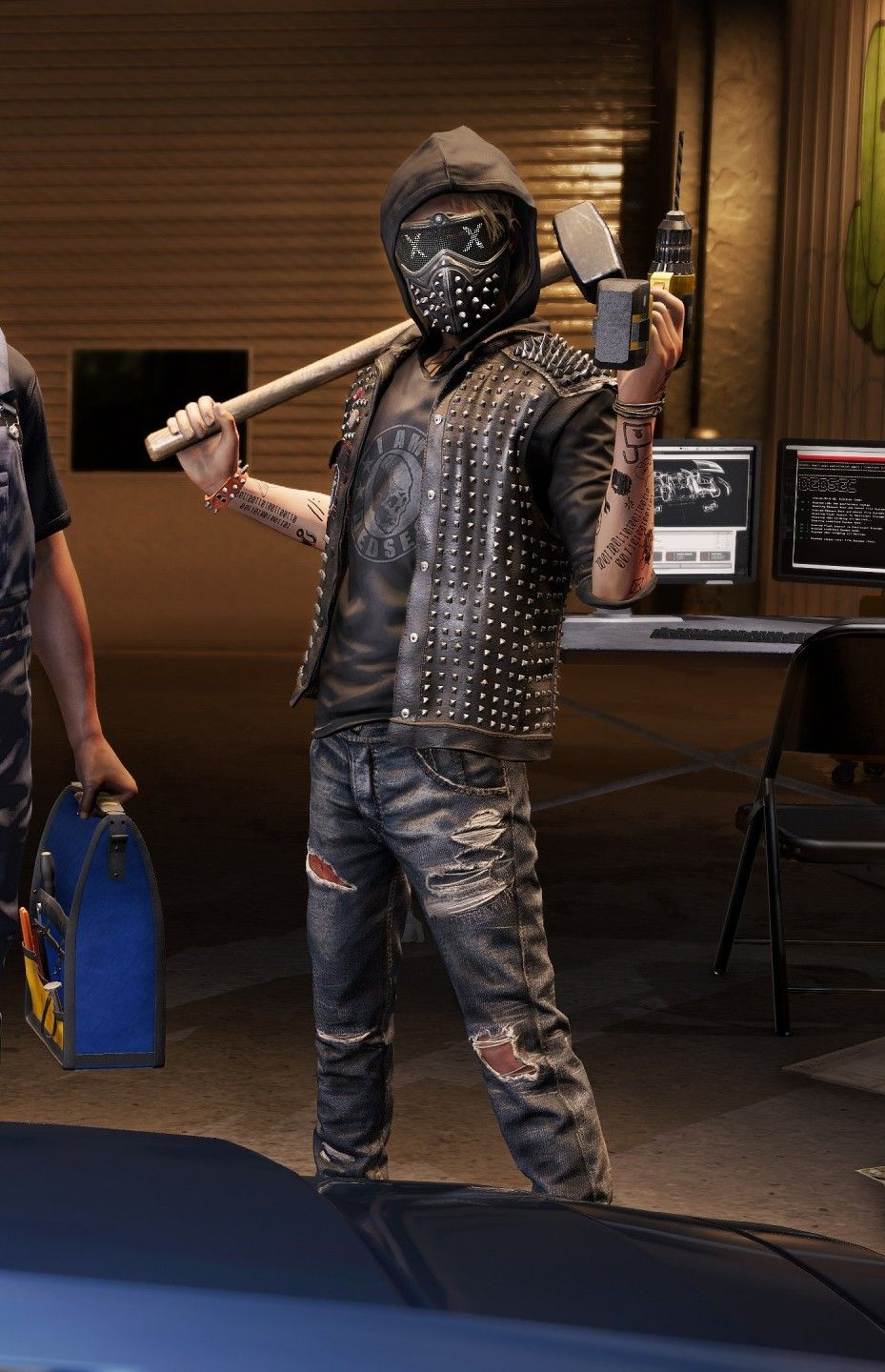 Wrench Watch Dogs 2 Watch Dogs Art Watch Dogs Wrench Watch Dogs 2