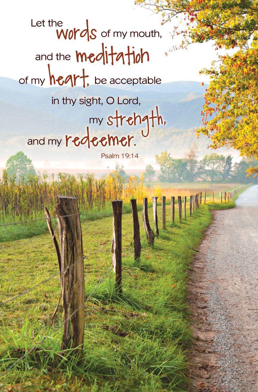 Psalm 19 Psalm 19 14 Regular Size Bulletins 50 Pak