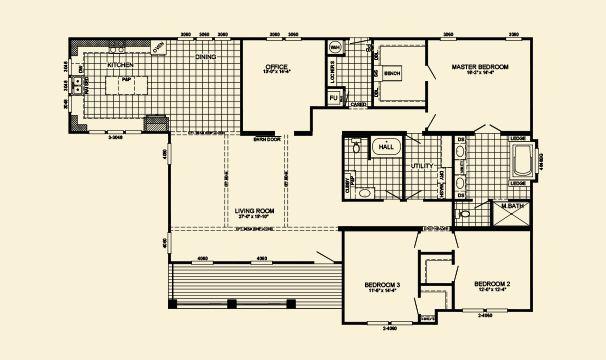 The Edison Imp 9300 Energy Homes Floor Plans House Plans Cottage Homes