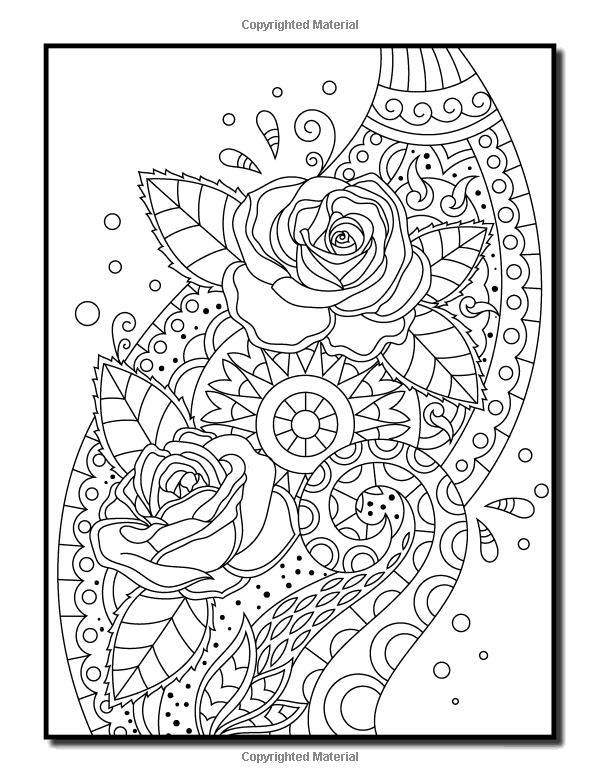 Amazon Com Coloring Books For Adults Relaxation 100 Magical Swirls Coloring Book With Fun Ea Relaxing Coloring Book Coloring Books Anti Stress Coloring Book