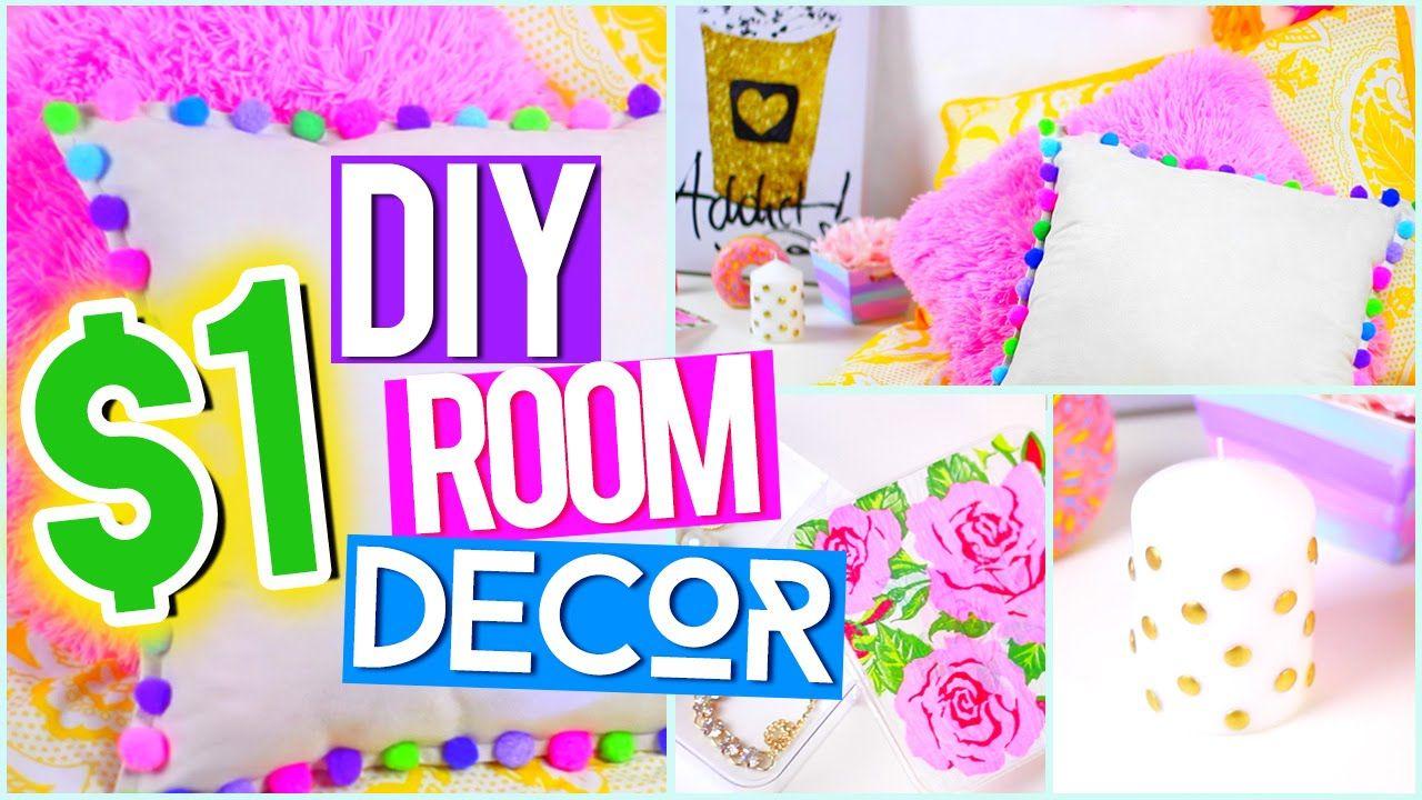 Diy 1 Room Decor Tumblr Pinterest Inspired Diy Room Decor For Teens Diy Bedroom Decor For Teens Cute Diy Room Decor