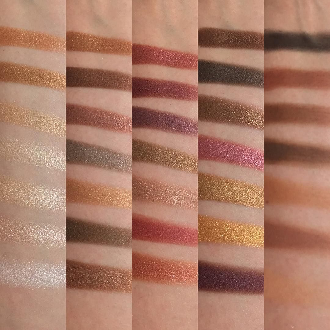 Morphe 35f Palette Fall Into Frost Swatches By Rinky Dinky Rhi Morphe 35f Morphe 35f