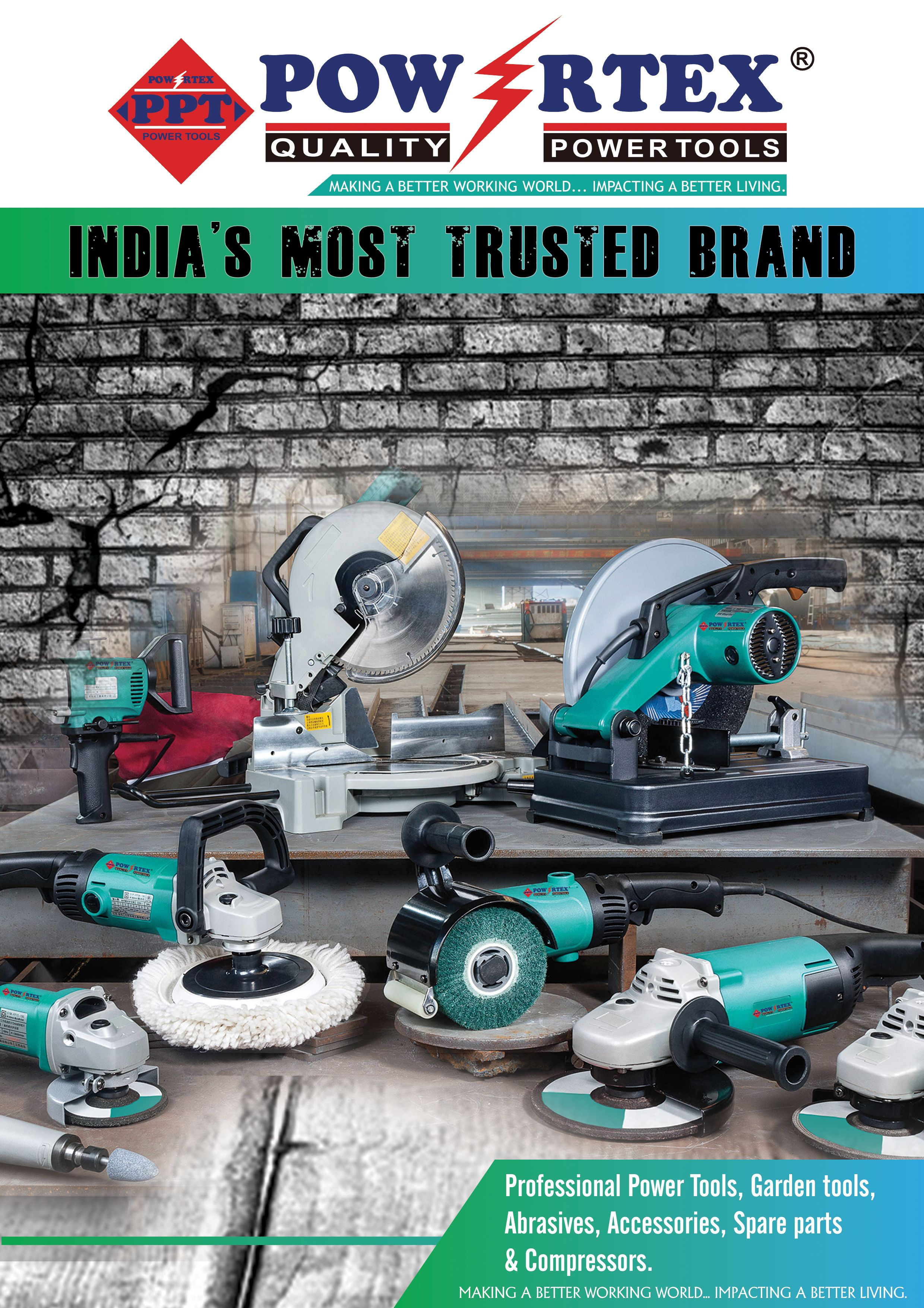 Powertex Devote To Producing Industrial Quality Power Tools