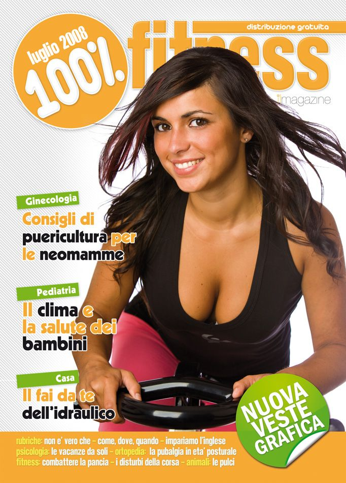 100 Fitness Mag Luglio 2008 Fitness Benessere Copertina