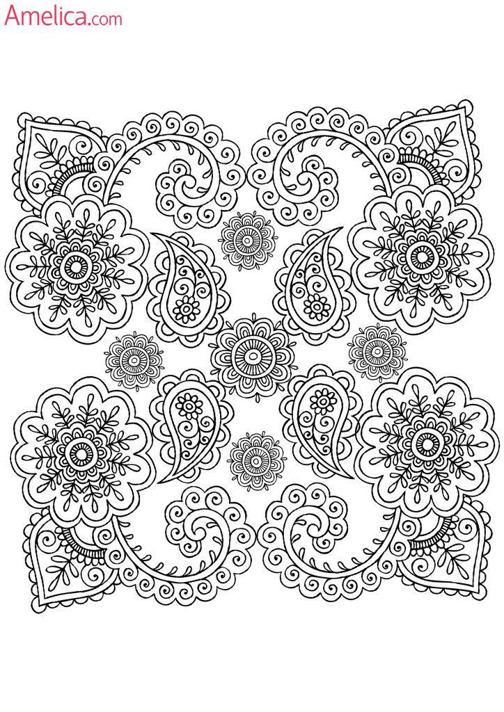 Арт терапия раскраски скачать бесплатно, картинки раскраски - антистресс распечатать узоры и цветы