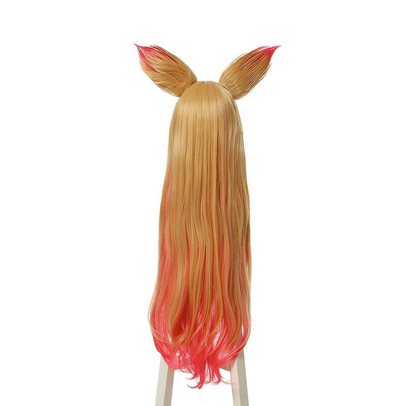 Synthetic None-lacewigs L-email Wig New Game Lol Lux Star Guardian Cosplay Wigs Heat Resistant Synthetic Hair Perucas Cosplay Wig