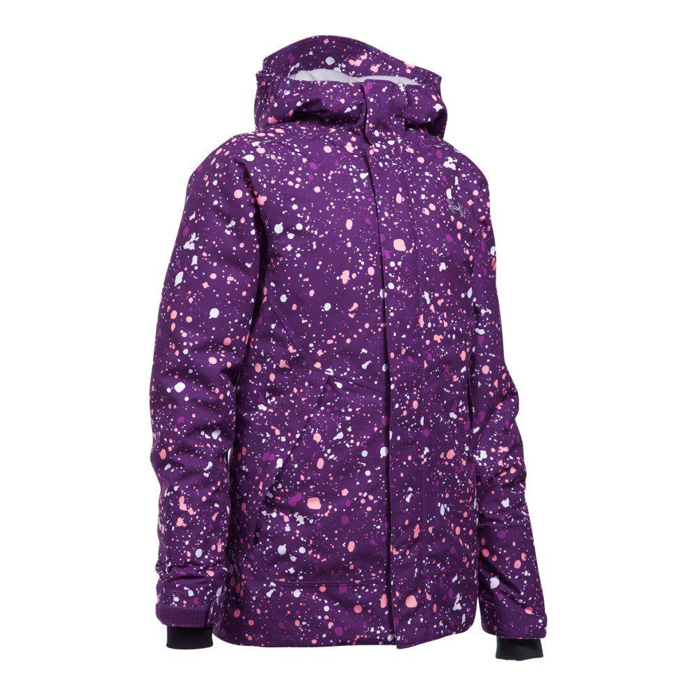 c6ee5791 Girls' ColdGear® Infrared Powerline Insulated Jacket   Under Armour ...