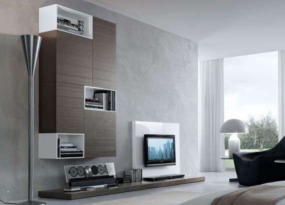 Modern Wall Units Design Ideas Channon Muebles Para Tv