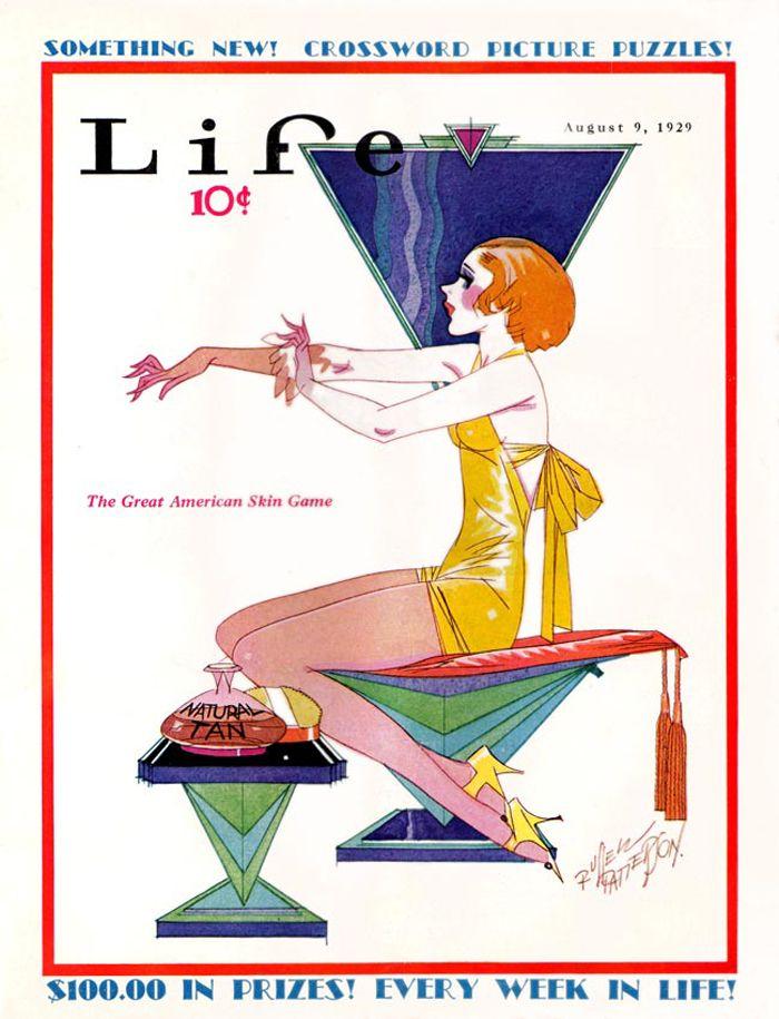 Russell Patterson illustrator- Life 1929