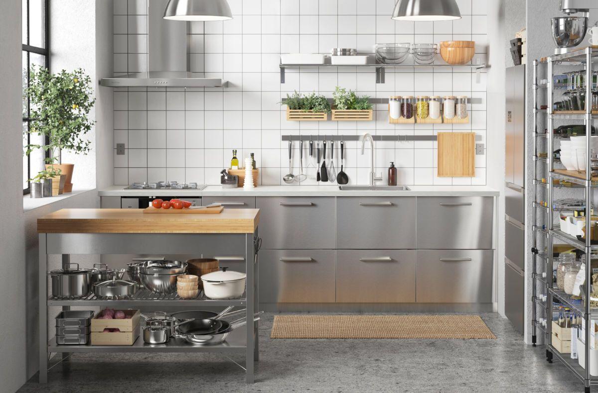 IKEA キッチン ハンドブック 2017 キッチンデザイン, リノベーション キッチン, 新築 キッチン