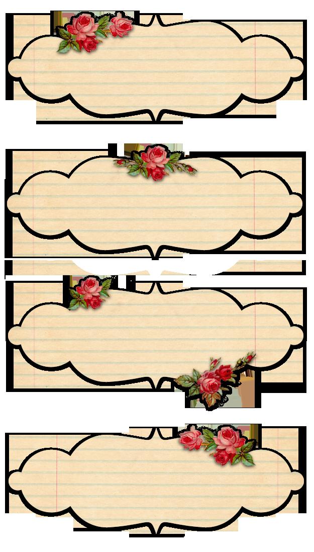 Заготовки надписей для открыток