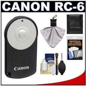 Canon Rc 6 Wireless Remote Shutter Release Controller Accessory Kit For T2i T3i T4i Eos M 60d Accessory Kits Digital Camera Accessories Perfect Camera