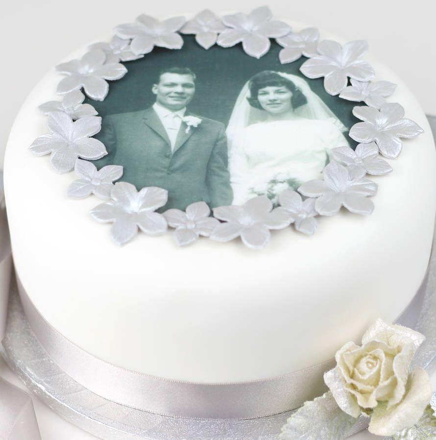 diamond anniversary cake ideas - Google Search | anniversary cakes ...