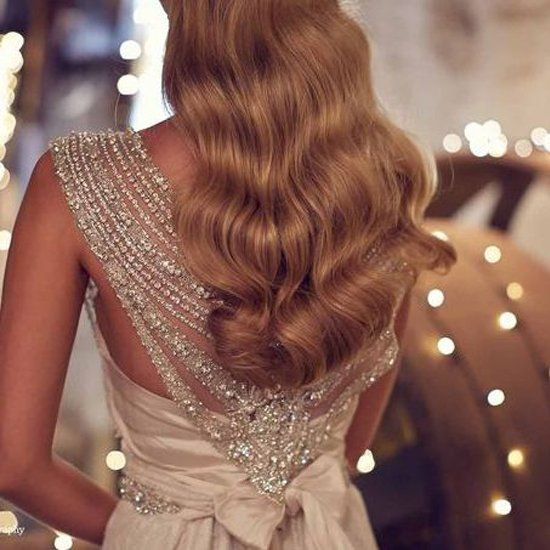 A collection full of romantic gowns and gorgeous details, like this showstopping sparkly back. (Anna Campbell)