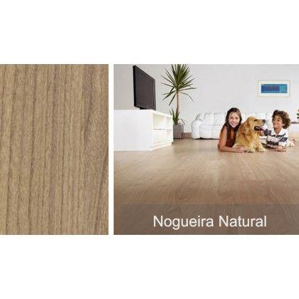 Piso Laminado Nogueira Natural Eucafloor - m²