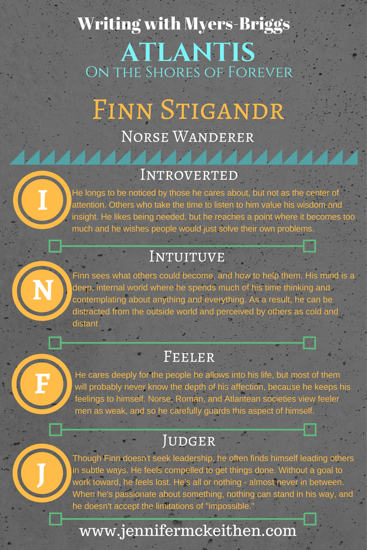 The rare INFJ male, Finn is a Norse wanderer assigned to