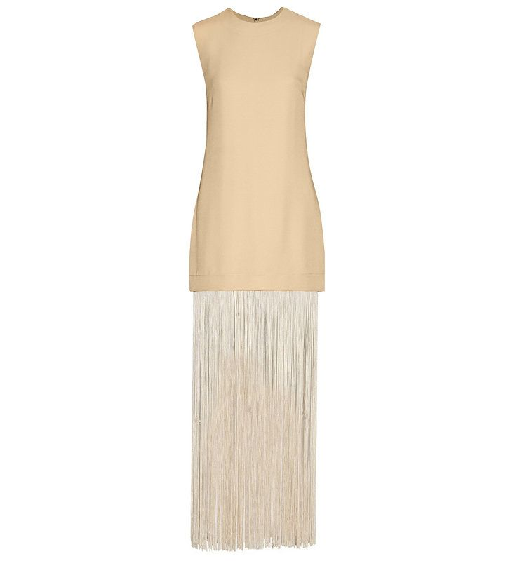 c238a63edc0 Nomia fringed pique maxi dress