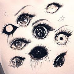 """Lisa ♡ on Instagram: """"Eye doodles! Nothing special 😭✨ #art #artist #creepy #cute #eye #eyes #eyedrawing #pen #pencil #paper #sketch #traditionalart #doodle"""",  #Art #artist #Creepy #creepyeye #Cute #doodle #Doodles #Eye #eyedrawing #eyes #Instagram #Lisa #paper #pen #pencil #sketch #Special #traditionalart"""