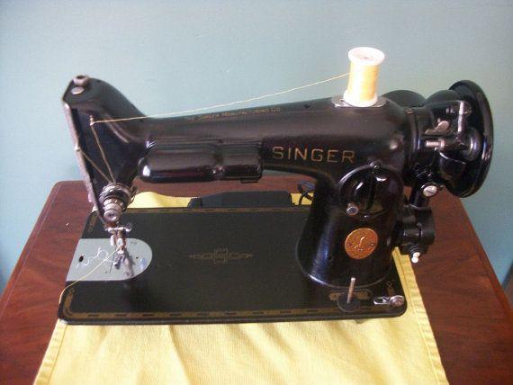Singer 201 sewing machine  GORGEOUS powerhouse  by papasworkshopct, $300.00