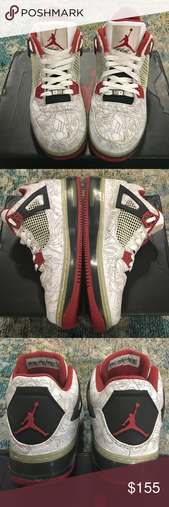 Jordan 4 Laser (Best Of Both Worlds