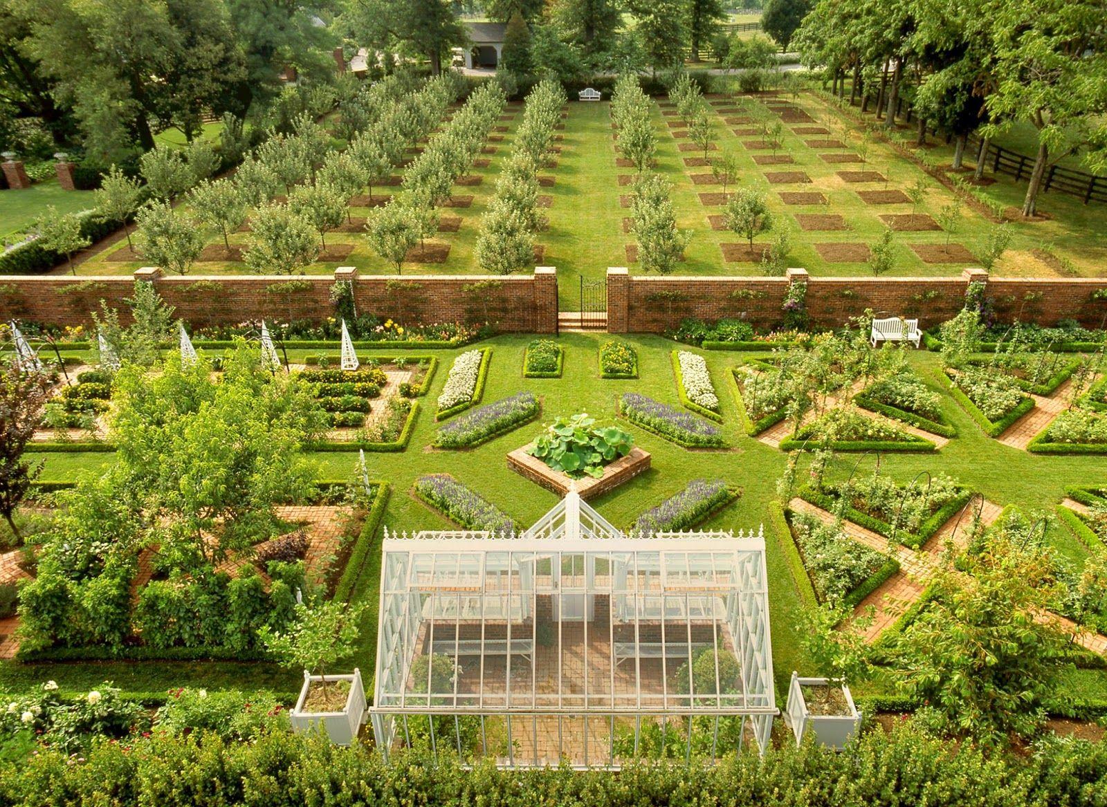 Hows This For A Symmetrical Garden? Little Augury: Pieter Estersohnu0027s  Kentucky Part II