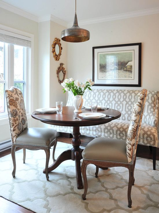 leather breakfast nook furniture. Fine Furniture Cute Breakfast Nook With Fabricback Chairs And Leather Seats To Withstand  Spills In This Eating Area  Enviable Designs Inc Intended Leather Breakfast Nook Furniture R