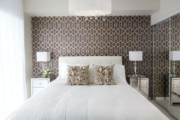 Extraordinary Bedroom Wallpaper Designs With Master Bedroom Design - Wallpaper designs for master bedroom