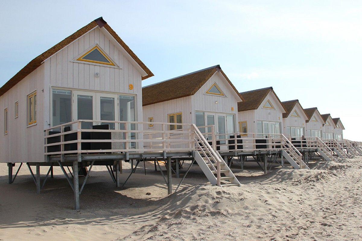 Schlafhäuser   Stranddroom   Slaaphuisjes op het strand Domburg ...