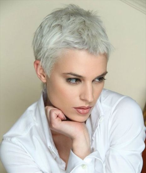 100 Mind Blowing Short Hairstyles For Fine Hair Really Short Hair Short Hair Styles Short Hair Styles Pixie