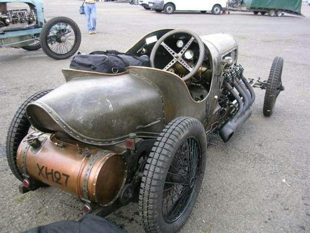 JAP V8-Powered GN Grand Prix 1908 Cycle Car by Richard Scaldwell ...