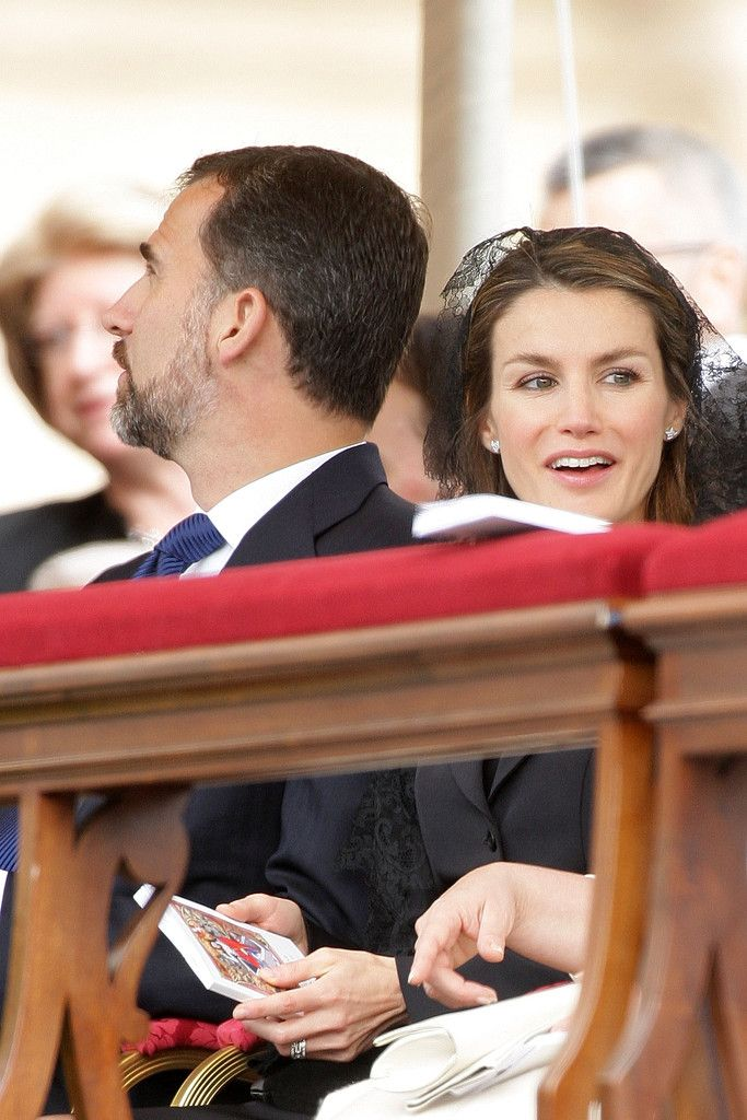 Queen Letizia of Spain Photos Photos John Paul II