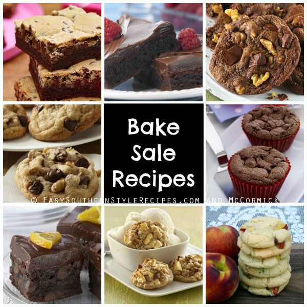 Bake Sale Cookie and Brownie Recipes from McCormick Connecticut