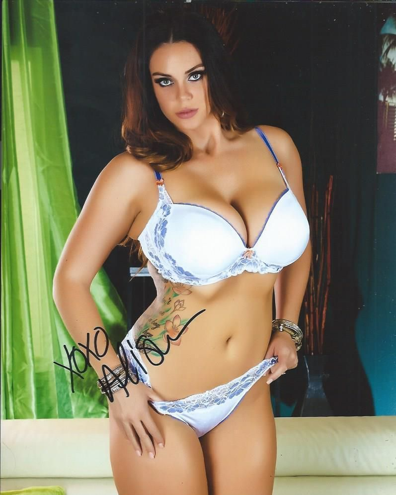 9c62f7d059a3c Alison tyler white bra panties adult model signed photo coa proof atx ebay  jpg 797x995 2008