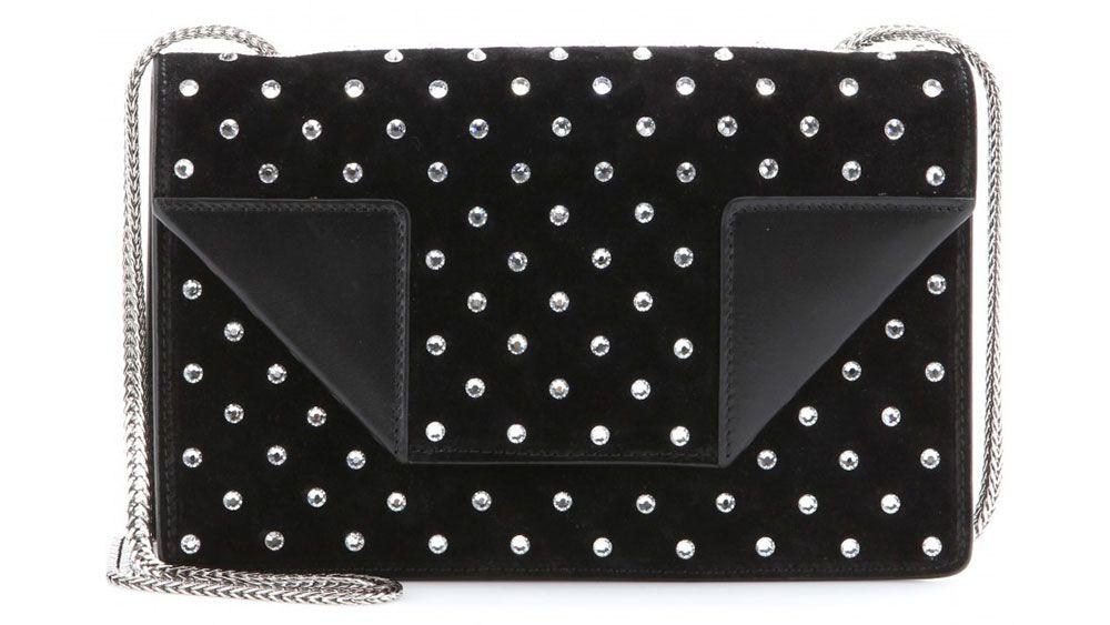 10 Statement-Making Holiday Bags. Saint Laurent bag, $1,990