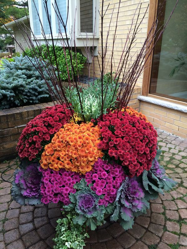 Awesome Fall Gardening Ideas Part - 11: Fall Container Gardening, Fall Containers, Plant Containers, Autumn  Planters, Fall Decorations, Beautiful Gardens, Garden Ideas