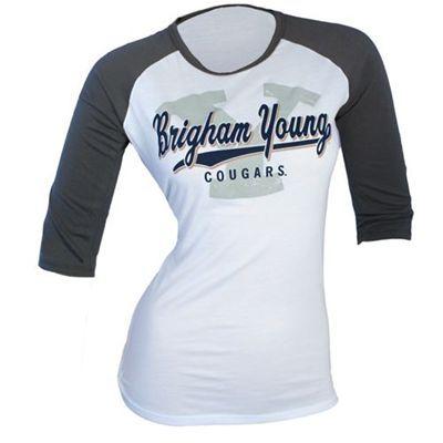 9a00d41fd29 BYU Cougars Women s Slugger T-Shirt