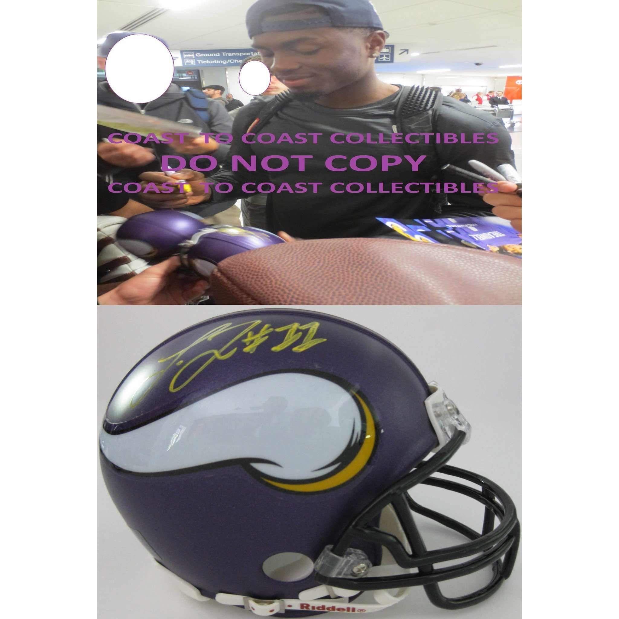 Laquon Treadwell, Minnesota Vikings, Signed, Autographed
