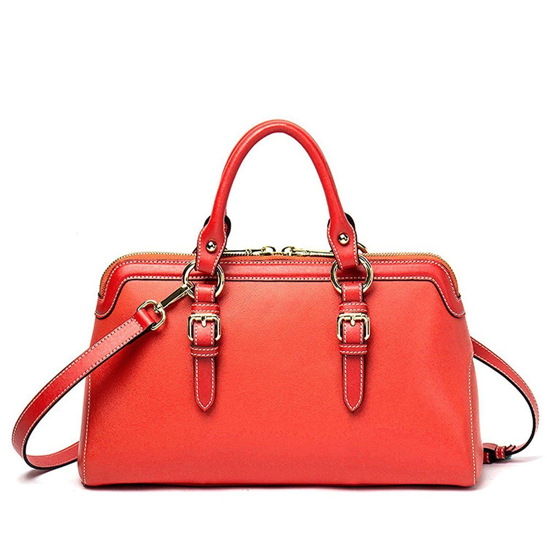 NAWO Women Leather Hobo Handbags Tote Shoulder Purses Cross Body Top-Handle Bags Gold
