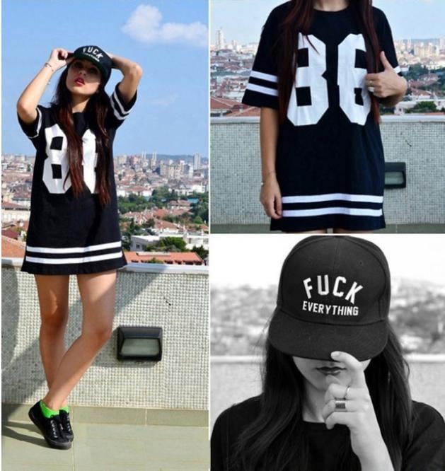 2014 Fashion 23 Basketball T Shirt Hip Hop Hiphop Print T Shirt Sport Tees Summer Women Long Sleeved Tops Long Sleeve Tops Trendy Fashion Women Black Top Women