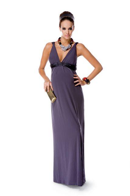 17e6499fd Vestidos de boda para invitadas embarazadas ¡11 Tendencia de moda ...