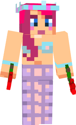 mermaid skins for minecraft
