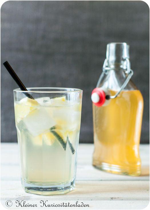 Lemon Squash für Eilige, aka Rosi Brause | Sirup, Zitrone und Getränke