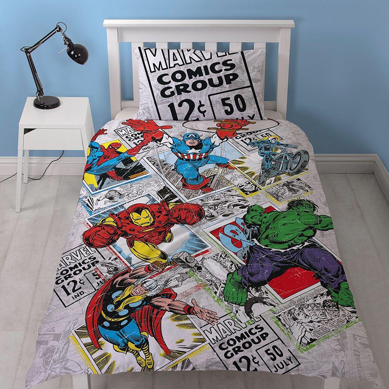 Bettwäsche Für Avengers Fans Von Dieser Comic Bettwäsche Sind Nicht