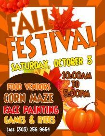 Image result for fall festival flyer template | fall festival ideas ...