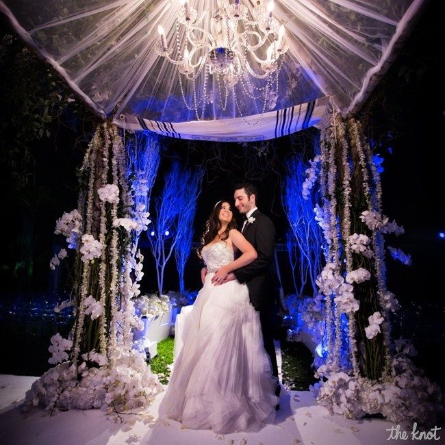 Real Fairytale Weddings: A Festive Fairy Tale Wedding In Weston, FL